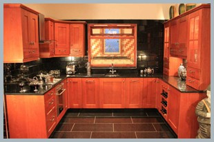 Varied Cherry Oak Kitchens On Sale