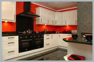 Massive Savings On This White High Gloss Kitchen.